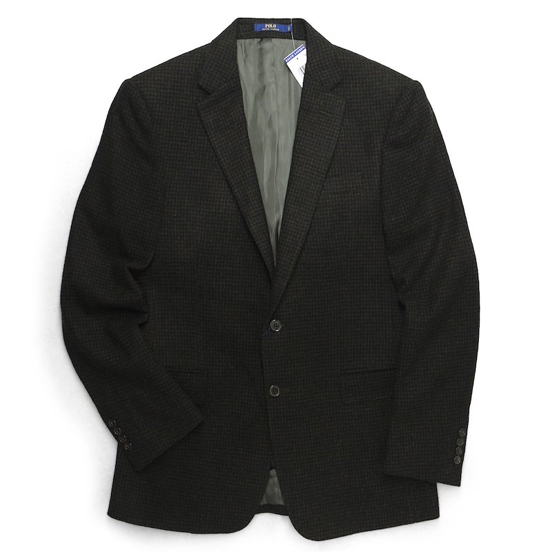 Polo Ralph Lauren ポロラルフローレン 千鳥格子ツィード  テーラードジャケット ブレザー【$995】 [新品] [070]