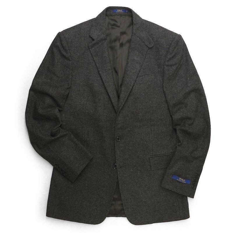Polo Ralph Lauren ポロラルフローレン 千鳥格子ツィード  テーラードジャケット ブレザー【$895】 [新品] [071]