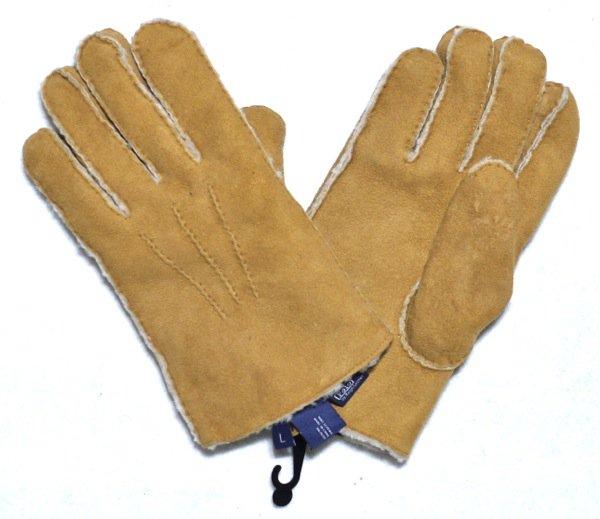 Polo Ralph Lauren ポロラルフローレン革手袋-001【$195】