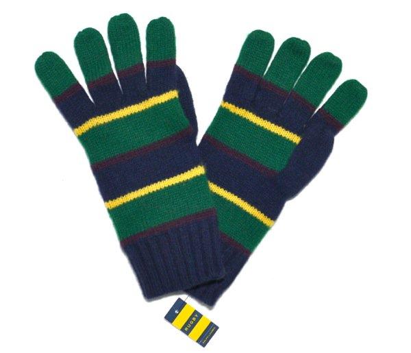 Rugby (ラグビーラルフローレン) ウール手袋-001