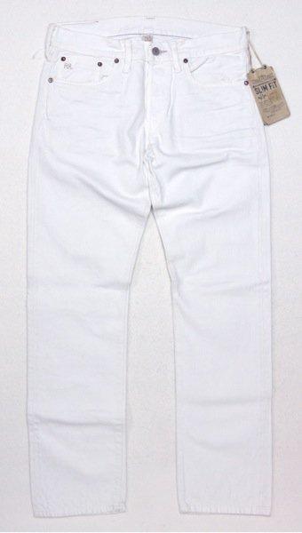 RRL (ダブルアールエル) ホワイトジーンズ-006【$280】
