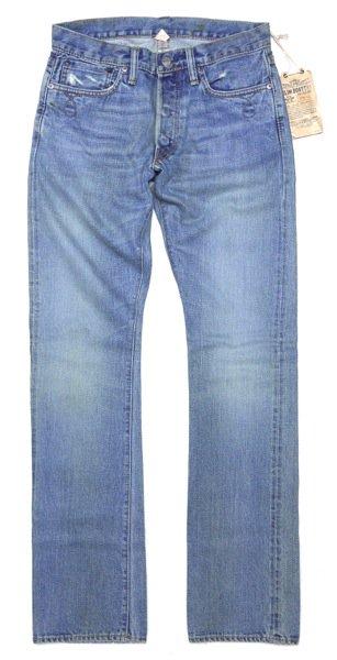 RRL (ダブルアールエル) スリムブーツカットジーンズ-008【$285】