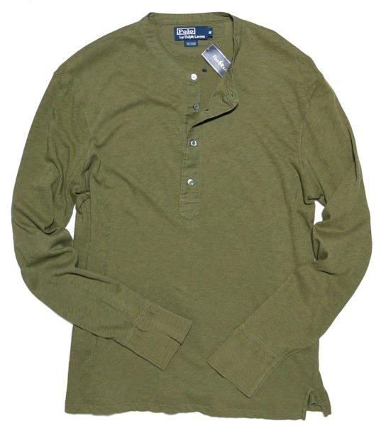 Polo Ralph Lauren ポロラルフローレンヘンリーネックTシャツ-002【$89.50】