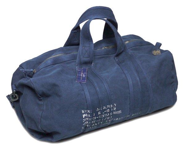 Polo Ralph Lauren ポロラルフローレンミリタリーダッフルバッグ-002【$198】