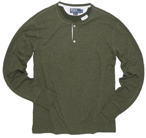 Polo Ralph Lauren ポロラルフローレンヘンリーネックTシャツ-020