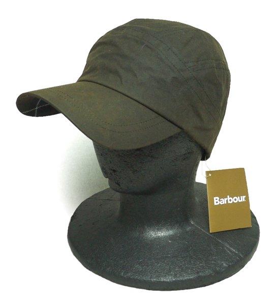 Barbour (バブアー) ワックスドコットン ジェットキャップ-005