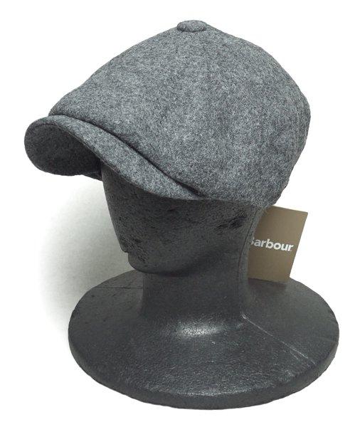 Barbour (バブアー) ウールメルトン ハンチングキャップ・キャスケット-009