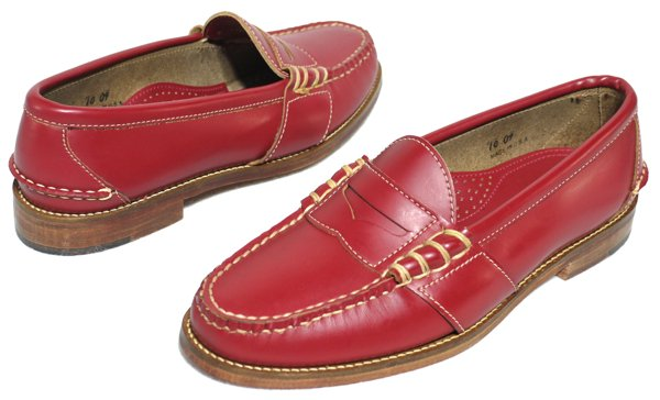 Polo Ralph Lauren ポロラルフローレン ペニーローファー 革靴【$395】[新品] [002]