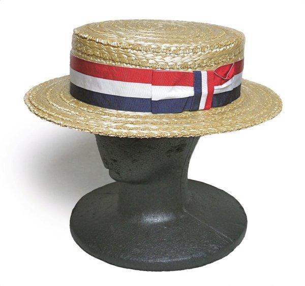 Polo Ralph Lauren ポロラルフローレン ボーターハット カンカン帽 帽子【$295】 [新品] [012]