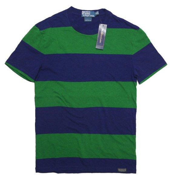 Polo Ralph Lauren ポロラルフローレン ボーダーTシャツ【$75】 [新品] [032]