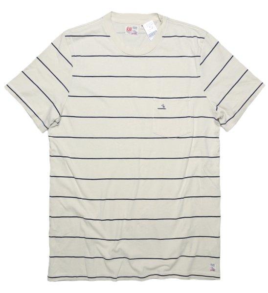 M.Nii エムニーイ ボーダー柄 ポケットTシャツ【$88】[新品] [001]