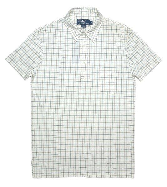 Polo Ralph Lauren ポロラルフローレン タッターソールチェック ポロシャツ【$98】[新品] [023]
