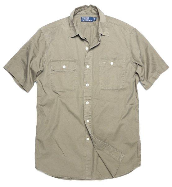 Polo Ralph Lauren ポロラルフローレン 半袖ワークシャツ [新品] [035]