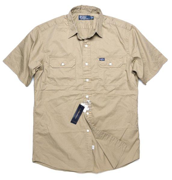 Polo Ralph Lauren ポロラルフローレン 半袖ワークシャツ【$79.50】 [新品] [036]