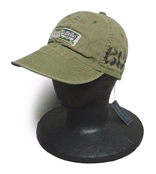 Polo Ralph Lauren ポロラルフローレン ミリタリー ワークキャップ 帽子 [新品] [022]