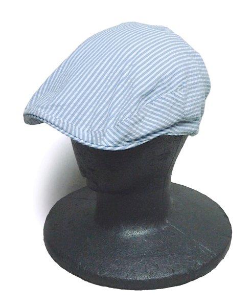 Rugby Ralph Lauren ラグビー ラルフローレン シアサッカー ハンティングキャップ 帽子 [新品] [045]