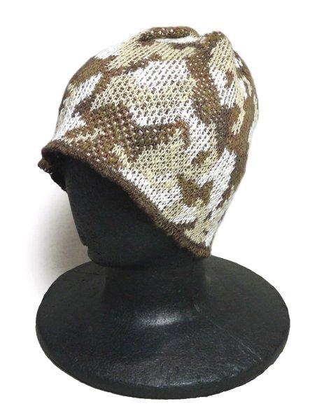 Highland 2000 ハイランド カモフラージュ リネン ニットキャップ 帽子 [新品] [001]