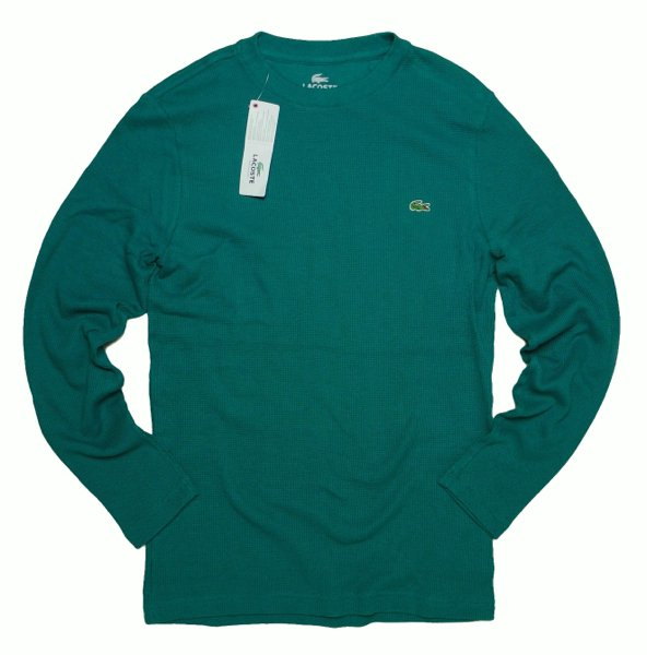 Lacoste ラコステ サーマルシャツ カットソー【$95】 [新品] [001]