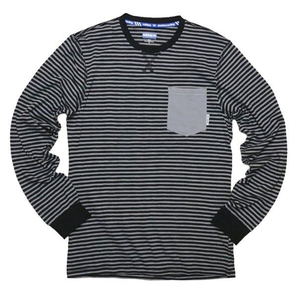 adidas SB × Silas アディダス スケートボーディング × サイラス ボーダーTシャツ 長袖 [新品] [007]