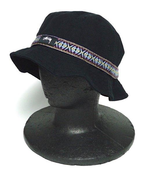 Stussy ステューシー バケットハット 帽子 [新品] [001]