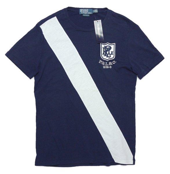 Polo Ralph Lauren ポロラルフローレン ビンテージ アスレティックTシャツ【$69.50】[新品] [038]