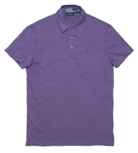 Polo Ralph Lauren ポロラルフローレン コットン×シルク 高級ポロシャツ【$125】 [新品] [029]