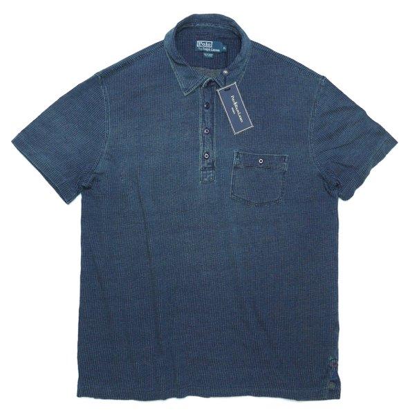 Polo Ralph Lauren ポロラルフローレン インディゴ ポロシャツ【$125】 [新品] [034]