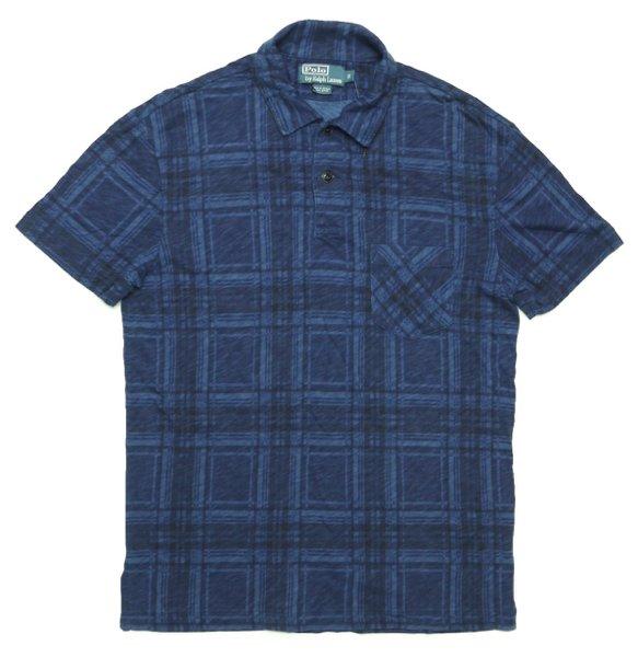 Polo Ralph Lauren ポロラルフローレン プリントチェック ポロシャツ【$125】 [新品] [036]