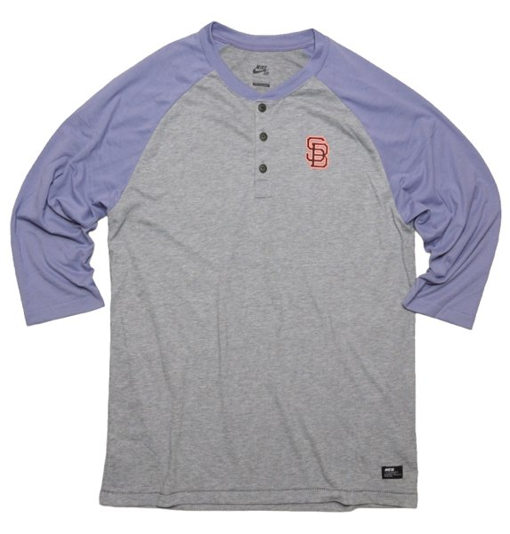Nike SB ナイキ スケートボーディング 七分袖 ベースボールTシャツ [新品] [003]