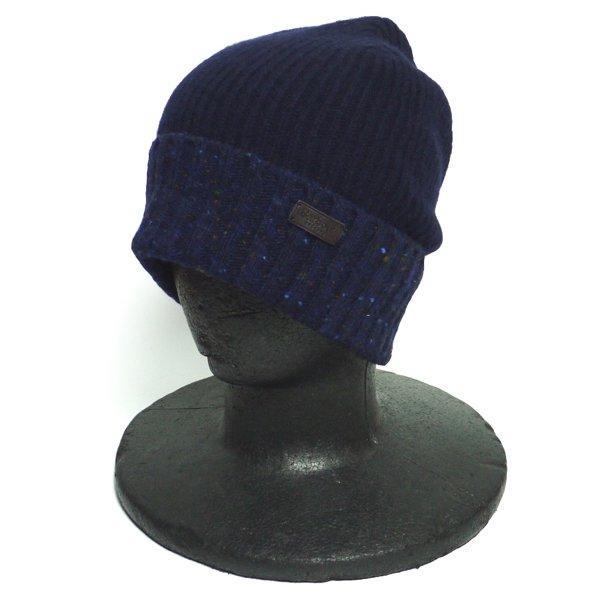Barbour バブアー ネップウール ニットキャップ 帽子 [新品] [015]