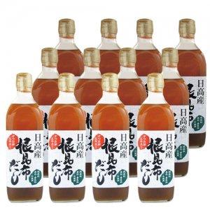 【増税前セール10%OFF】根昆布ダシ (500ml×12本)