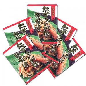 紅ズワイガニ入り松前漬 (170g×5個)