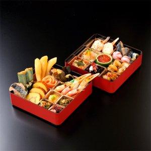 豪華二十四種の二段重 北海道 海鮮おせち
