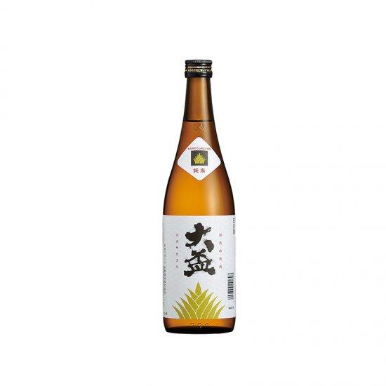 """""""大盃""""純米酒 720ml かろやかで心地よい辛口"""