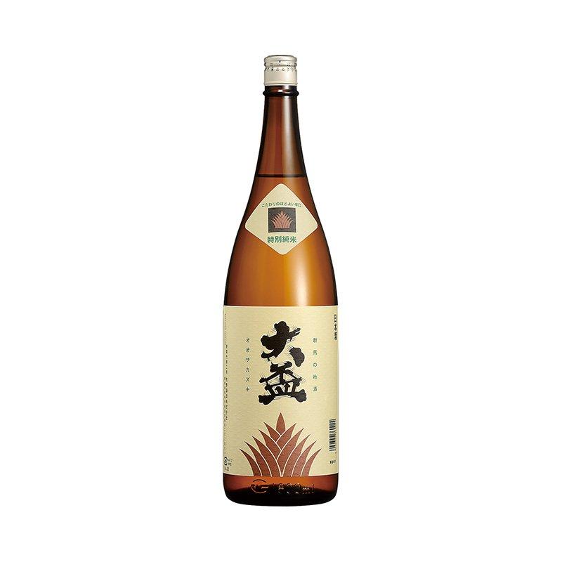 """""""大盃"""" 特別純米酒 1800ml こだわりの程よい辛口"""