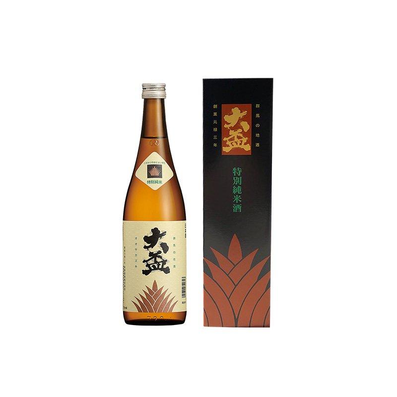 """""""大盃""""特別純米酒 720ml こだわりの程よい辛口"""
