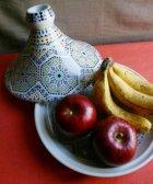 プリント柄のタジン鍋