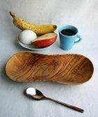 オリーブの木 瓢箪形のお皿