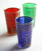 グラス/赤・緑・緑×金