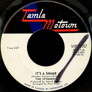 THE SPINNERS / It's A Shame [7INCH]
