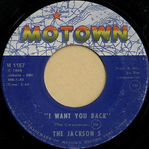 THE JACKSON 5 / I WANT YOU BACK [7INCH]