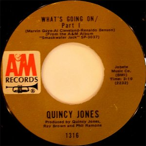 QUINCY JONES / What's Going On Part.1 [7INCH]