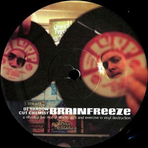 DJ SHADOW & CUT CHEMIST / Brainfreeze [12INCH]