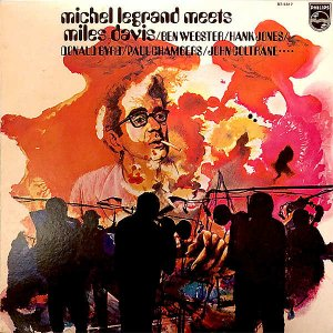 MICHEL LEGRAND  / Michel Legrand Meets Miles Davis [LP]