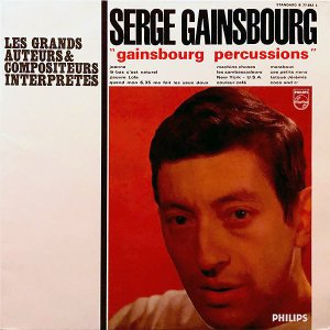 SERGE GAINSBOURG / Gainsbourg Percussions [LP]
