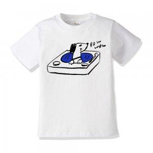キッズTシャツ 「レコードきこうよ」