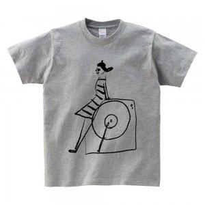 キッズTシャツ 「レコード・ガール」