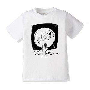 キッズTシャツ 「ぼくの好きな音楽」
