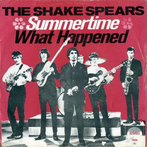 THE SHAKE SPEARS / Summertime [7INCH]
