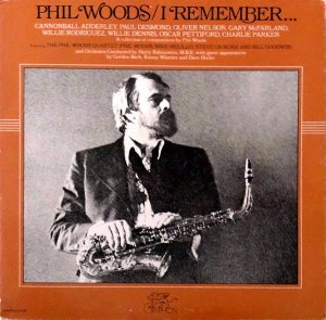 PHIL WOODS / I Remember [LP]